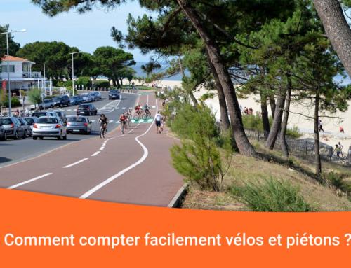 Compter les vélos et piétons : centre-ville, itinéraires cyclables, voies vertes